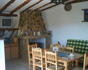 Salon comedor casa rural